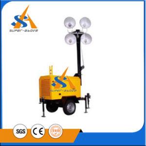 Fábrica de China 7kw torres de luz para la venta