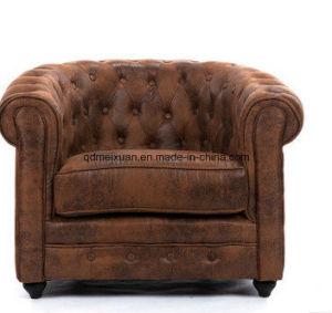 Faça duplo sofá de couro com alta qualidade (M-X3162)