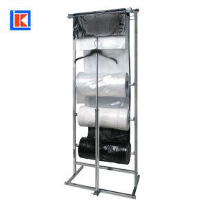 플라스틱 LDPE 롤에 있는 명확한 세탁물 드라이 클리닝 여행용 양복 커버
