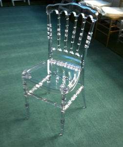 Party Rentals에 아크릴 Resin 나폴레옹 Chair