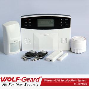 Беспроводные GSM сигнализации о взломе дома с ЖК-экран (YL-007M2B)