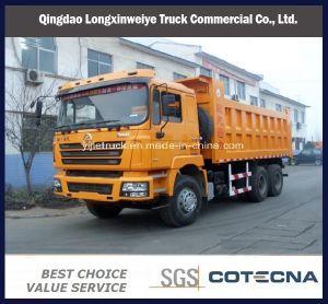 Shacman 6X4 340CV 5.8M 20ton el uso de minas volquete Camión volquete