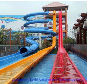 Water Park Instalação fechada de alta velocidade louca escorrega de água (WS-054)