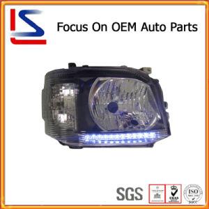 自動車/Hiace'11のためのCar Parts Black LED Head Lamp