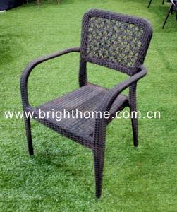 柳細工アーム椅子の藤の椅子