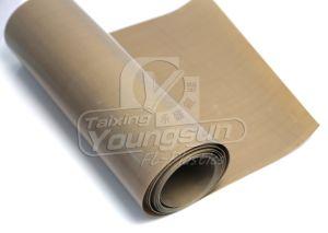 テフロン上塗を施してあるシリコーンの粘着テープ