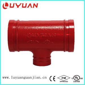 ASTM A-536 Reductor de ranurado conjunta para el tubo en T