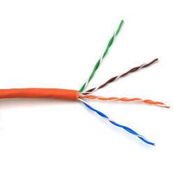 O Cat5e 1000ft 24AWG sólidos a granel cabo LAN de rede UTP Cat5