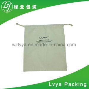 Comercio al por mayor de polipropileno de cordón de algodón orgánico bolsa para el trigo, arroz, harina embalaje