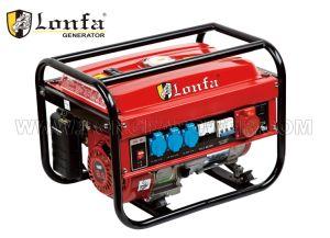 6.5HP pequeño generador de gasolina de bajo ruido con el AC trifásica