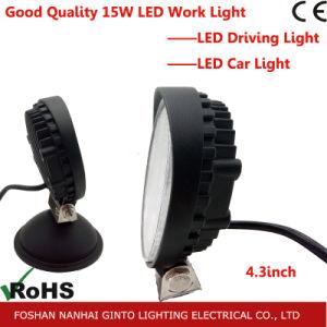 18W 4дюйм круглый светодиодный индикатор рабочего освещения для автомобиля, погрузчик вне дорог