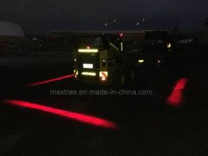 赤いゾーンLED警告ランプが付いている安全フォークリフトライト