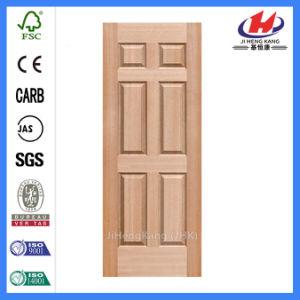 Portello composito di legno del MDF WPC dell'acciaio interno bianco
