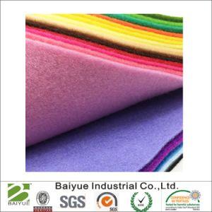 Смесь из полиэфирного волокна шерсти в различные цвета