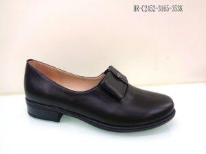 女性のためのヒツジの皮の革靴