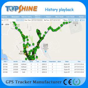 С двумя SIM-карты GPS Car Tracker с геоограждения предупреждение