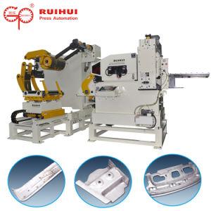 La automatización Servo Nc plancha y un alimentador Uncoiler Machine (MAC3-600)