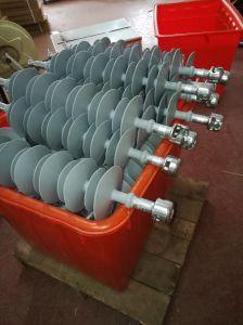 Isolador de polímero de alta tensão 33kv 80kn Sais Distância 1800mm