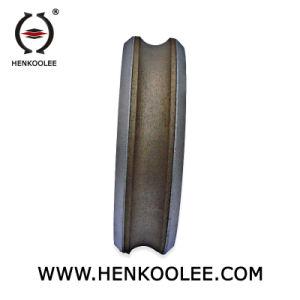 Moedor de uso de afiação Slot Diamante de ferro para o Vidro da Roda