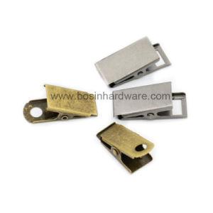 Clip del distintivo della cinghia del metallo con la spilla di sicurezza