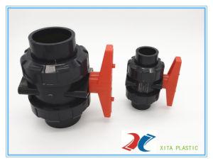 Válvula de PVC con doble Europea utilizados en la marca de agua.