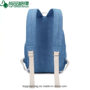De in het groot Nieuwe Trendy Schooltassen van de Manier van het Canvas van de Douane van de Rugzak van de Jeans van het Canvas