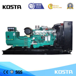 400kVA Yuchaiエンジンの開いたタイプ力電気ディーゼルGenset