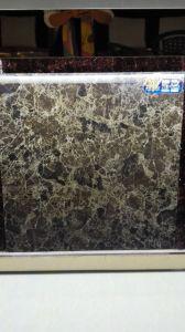 建築材料の暗い色の大理石のコピーによって艶をかけられる磁器の床タイル(600X600mm 800mmx800mm)