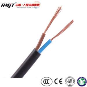 Incêndio nos microorganismos H05VV-F H03VV-F Cu/PVC/PVC com isolamento flexível plano Kabel Fio