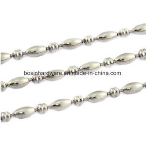 Níquel de 3,2 mm de la cadena de bolas de metal