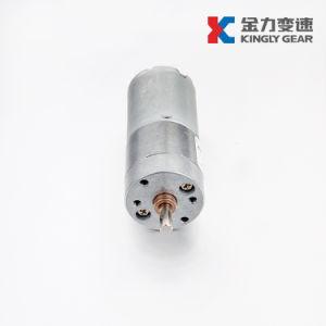 Jl-25A370 25mm 변속기 금속 기어 12volt DC 모터를 가진 마이크로 모터 기어 흡진기