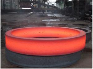 SAE1045 탄소 강철은 링기어 큰 크기를 위조했다