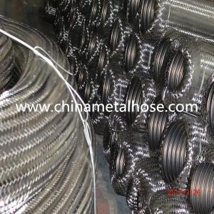 Tubo flessibile ondulato del metallo di alta qualità con intrecciatura