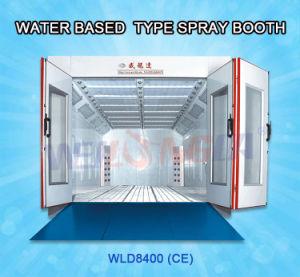Cabina di spruzzo della pittura di base di acqua del Ce Wld8400