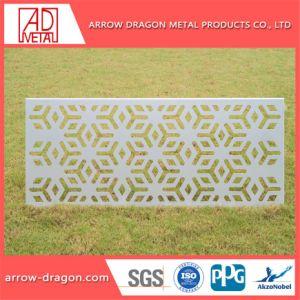 Dekorative Material-perforiertes Aluminiumpanel für Zwischenwand