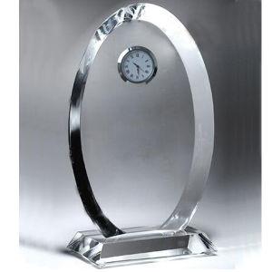 Troféu de Cristal Relógio de adjudicação