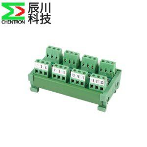 Protección del diodo Bloque Terminal PLC en múltiples y Multi-tipo riel