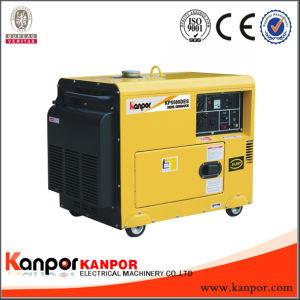 diesel van de 5.0kw50Hz /5.5kw 60Hz Stille Lucht Koele Draagbare Generator