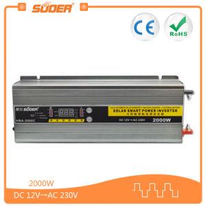 충전기 (HBA-2000C)를 가진 Suoer 12V 2000W 태양 에너지 변환장치