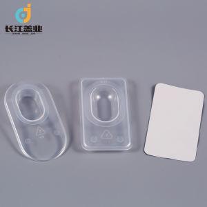 PP contenedores para lentes de contacto.