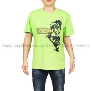 China proveedores de productos de algodón personalizadas impresas Camiseta para hombres