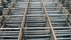 高品質Galvanized/PVCの緑の上塗を施してある溶接された金網のパネル