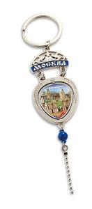Commerce de gros anneau de clé en métal personnalisée/Souvenir/nom/PVC/caoutchouc/cuir/de la chaîne de clé de voiture pour cadeau promotionnel