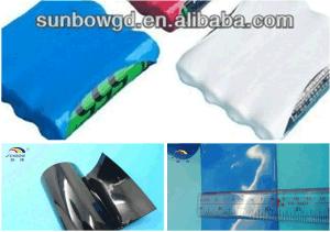 Нагрейте пластиковую термоусадочную трубку аккумуляторной батареи