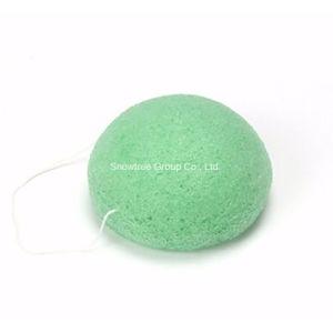 Spugna/a metà sfera facciali Konjac/naturali originali di pulizia di 100% Konjac