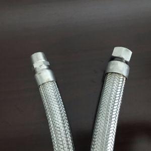 Tubo flessibile del metallo flessibile con il montaggio femminile maschio del metallo del NPT Bsp