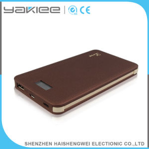 Portátil de alta capacidad de 8000mAh cargador de móvil Banco de alimentación USB