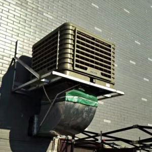 Teto Parede industrial montado 18000CMH 16 Velocidades Fábrica do resfriador do ar por evaporação de Worshop de fábrica