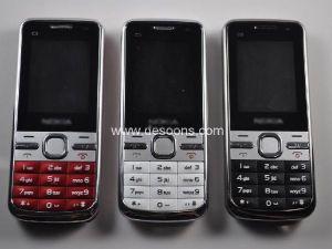 SIM doppio carda il telefono mobile TV del quadrato della luce analogica della torcia della fascia (C5)