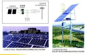 Station de système d'énergie solaire